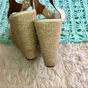 fcf0b47d8ff Lucky Brand Shoes - NEW Lucky Brand Rilo Crochet Wedge Espadrille 6